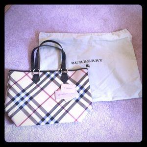 Large Burberry Shoulder Bag